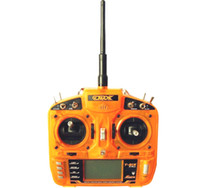 Wholesale airplane t - Hobbyking TX OrangeRx T-SIX 2.4GHz 6CH Programmable Transmitter FOR helicopter airplane 3-Pos Switch better PK DX6i