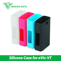 Wholesale Box Evic - High Quality Joyetech Silicone Case for eVic-VT Battery Protect the eVic-VT BOX MOD from Heavengifts 100% Original Free Shiping