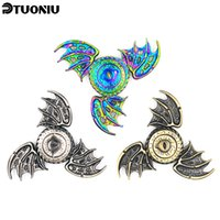 Wholesale Spinner Game - Game of Thrones Fidget Spinner Dragon Eyes Metal Hand Spinner Finger Spinner Anti Stress Tri Spiner Toys for Autism and ADHD