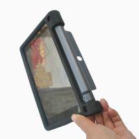 lenovo için vaka örtüsü toptan satış-Lenovo Yoga Tab için MingShore Silikon Sağlam Durumda 3 8 inç tablet YT3-850F YT3-850L YT3-850M koruyucu kapak