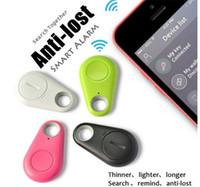 çocuklar için anti kayıp alarmları toptan satış-Sıcak satış Mini Akıllı Bulucu Bluetooth Tracer Pet Çocuk GPS Bulucu Etiket Alarm Cüzdan Anahtar Izci Anti-kayıp