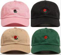 Wholesale Solid Rose Gold - new style rose underair baseball cap snapback caps hats for men women sleepyslip bone hip hop sports gorras Casquette visor polo dad hat