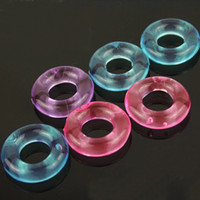 Wholesale Hard Sex Products - Penis Ring Delaying Ejaculation Silicone Cock Rings Stay Hard Donuts Multi-color Sex Toys for Male and Female sex products