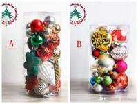 boncuk dekorasyon yılbaşı toptan satış-Noel Ağacı Noel Topları Süslemeleri Eşleştirme Renkli Boncuk Süslemeleri Noel Ağacı Renkli Top Dekorasyon Noel İçin