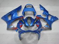 Wholesale Honda Cbr929rr Fairing Red Injection - Bodywork for Honda Cbr929RR 2000 Full Body Kits CBR 929RR 01 Blue Red ABS Fairing CBR 929 2001 2000 - 2001
