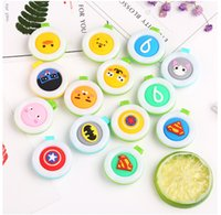 Wholesale Cute Pregnant Women - New Mosquito Repellent Badge Button Buckle Colorful Cartoon Cute Baby Pregnant Woman Mosquito Repellent Clip Protection Repellent Button