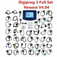Wholesale Odometer Correction Tool Nissan - Top Digiprog III V4.94 Digiprog3 FTDI Odometer Correction Tool DP3 Digiprog 3 Mileage Programmer Full Set With ST01 ST04 Cable