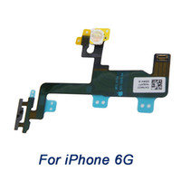 Wholesale Replacment Cable - Power Flex Cable for iPhone 6 6G , grade A+ On Off button Switch flat Ribbon replacment parts