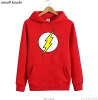 Wholesale Friends Heroes - Wholesale- The Flash Barry Allen Star Lab Labs Black Color Mens Sweatshirt Men Novelty Heroes Pullover 2016 Male Clothes Arrow Friend