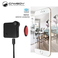 Wholesale Mp4 Record - Wholesale-Camara espia CAMSOY C1 Mini camera Multipurpose Motion Sensor Loop Recording HD 720P MP4 H.264 micro Camera dvr