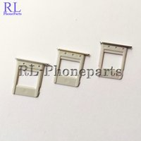 Wholesale Note Sim Tray - 10Pcs Lot New SIM Card Tray Holder For Samsung Galaxy Note 5 N920F Sim Tray Silver Black Gold Replacement Parts