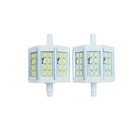Wholesale Energy Saving Halogen Bulbs - R7S LED Lamp corn bulb 10W SMD5730 78mm AC85-265V 24leds LED Light Bulb Energy Saving Perfect Replace Halogen Lamp Free Shipping