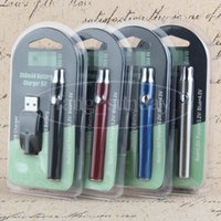 Wholesale Ego Wickless Cartomizer - E Cigarette Vaporizer Cartomizer Pen Preheating 350mAh eGo Variable Voltage Batteries Blister Package for Ceramic Wickless Cartridge China