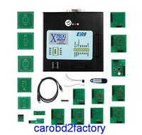 Wholesale Xprog Dhl - Highest Quality XPROG V5.55 ECU Chip Tuning Programmer Auto ECU Programmer Car Diagnostic Tools X-PROG V5.55 with DHL Free Shipping