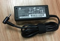 Wholesale Hp 65w Laptop Ac Adapter - Genuine OEM 65W AC Adapter Power Charger 19.5V 3.33A 65W HP Pavilion Laptop Blue Tip