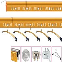 Wholesale Drink Dresses - Balcony Hardware Accessories Easily Pulley Lifting racks Manual control Stainless steel Hardware Accessories durable anti - skid