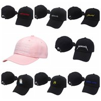 Wholesale Babygirl Cap - strapback hats 424 Four two four BABYGIRL Big Sean I decided Drake More Life Metallica SALT BAE MEME Sinner Crown 6 panel Baseball ccaps