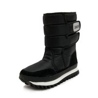 Wholesale Thick Fur Boots - Women Boots Winter Shoes Snow Boot Large Big Size 36 to 44 Black Buffie Style Bota Warm Boots Thick Fur Lining. XDX-014
