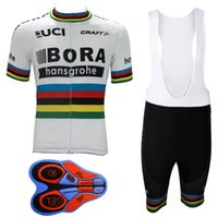 Wholesale New Arrival Gold Set - 2017 BORA New Arrival Cycling clothing Pro Cycling Jersey Ropa Ciclismo Bicycle sets Mountain MTB Bike cycling clothing Maillot Hombre Men