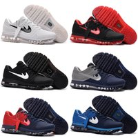Wholesale Soccer Football Boots Brand - 2017 Cheap Running Shoes For Men Maxes 2017 Plastic KPU Sports Shoes High Quality Outdoor Sneakers Brand Free Shipping