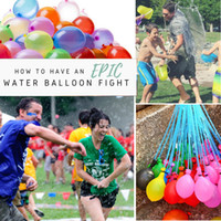 Wholesale 111pcs a Magic Water Balloons of Refill Balloons Big Discount Water Filled Balloons For Summer Beach Water Wars