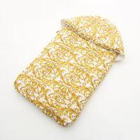 sonbahar kış uyku tulumu toptan satış-38 Stil Bebek Uyku Tulumu Altın baskı Sonbahar ve kış Yenidoğan Uyku tulumu