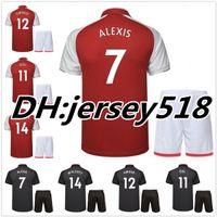 Wholesale Alexis Sanchez - best 17 18 Soccer Jersey kits ARSENL sanchez OZIL ALEXIS RAMSEY WALCOTT WILSHERE 2017 2018 GIROUD LACAZETTE XHAKA GIROUD Football Shirts