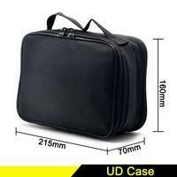 Wholesale Double Pocket Bag - Youde UD Double-Deck Vape Pocket Vapor Tool Kit Bag Clone for tanks Mods battery coils DIY Tools Carry case fit ecigs device bag