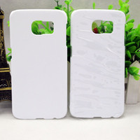 Wholesale Sublimation Case S3 - For Samsung Galaxy S3 S4 S5 S6 S7 S8 Edge Plus Note 3 4 5 customized printing DIY Blank 3D sublimation Plastic cover case
