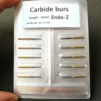 Wholesale 10 Dental Maillefer Endo Z Burs FG mm tapered burs for pulp chamber