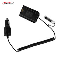 Wholesale Tyt Battery - Wholesale- For TYT MD-380 Car Charger Battery Eliminator for TYT MD-380 Walkie Talkie Ham Radio Hf Transceiver