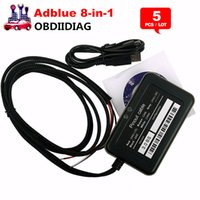 Wholesale Automotive Ads - Black AdBlue Emulator 8 in 1 with NOx sensor Ad blue emulator remove tool DHL Free