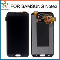 Wholesale Galaxy Ii Lcd Display - Grade AAA LCD Replacement For Samsung Galaxy Note 2 II N7100 N7102 N7108 N719 N7105 L900 Touch Screen Digitizer Display Free DHL Shipping