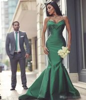 Высокое качество Sexy Green Spaghetti Evening Dresses Satin Mermaid 2017 Arbric Sleeveless Long Prom Party Celebrity Dresses Официальные платья