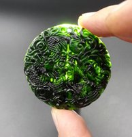 Wholesale Hotan Jade - Wholesale-Natural jade xinjiang hotan mo in extremely good fortune nephrite jade pendants lovers