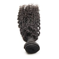 Wholesale remi curly - african remi hair Grade 3 bundles 8A 100% Brazilian Human Hair Weft Extension Curly Free Can Be Dyed No Shedding GS77198