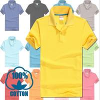 Wholesale Embroidery Polos - men polos brand summer crocodile embroidery Polo Shirt Men Short Sleeve Casual Shirts Man's Solid Polo Shirt Plus 3XL men tees Camisa Polo