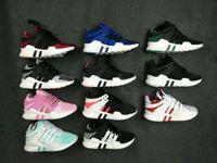 Wholesale Core Equipment - 2017 Discount EQT Equipment Support ADV Boost Parent-child shoes Cheap kids Running Shoes Sneakers Primeknit Core Sports Shoe size 28-35