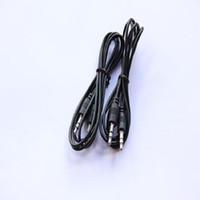 Wholesale Black Jack Mp3 - 1M 3ft Black Aux Cable 3.5mm to 3.5mm Stereo Jack Plug Audio Car iPod AUX PC TV MP3 Cable Sliver Lead 300cm 120cm 100cm 70cm 50cm