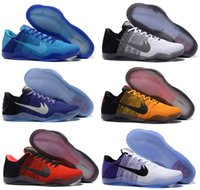 Wholesale Elite Football Boots - 2017 Kobe 11 XI Low Basketball Shoes Bryant Kobe 11 Elite Running Shoes KB XI Retro Weaving Sports Casual Sneakers Shoes Kobe Boots