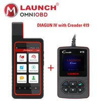 Запуск X431 Diagun IV X431 IV поддерживает Wifi Bluetooth Diagnostic Tool с CReader 419 CR419 OBD2 Code Reader