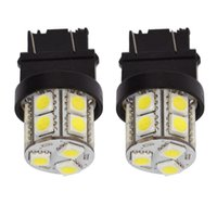 Wholesale Replacement Rear Lights - T25 Base 15 SMD 5050 LED Replacement for Car Incandescence Bulb Tail Rear Brake Turn Bulb Stop Backup Lamp Parking Side Marker Lights