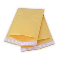 enveloppes ouvertes achat en gros de-270mmx145mm / 260mmx185mm / 220mmx120mm destructrice ouverte auto-scellante poly bulle kraft sacs de courrier enveloppe enveloppe