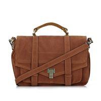 Wholesale Red Suede Satchel - Celebrity Jessica Alba Brand Women Fashion shoulder bags handbags PS1 Suede Quality Crossbody Satchel Messenger Bag