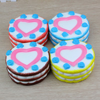Wholesale Bulk Time - Bulk Three Levels Rainbow Cake Key Ring Hand Lepin Anti Autism and ADHD Time Killer By Pressing Stress Reliever Softy Toys