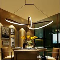 nuevo diseo moderno minimalista llev luz colgante llev lmpara colgante de aluminio v lmpara de suspensin para sala de comedor