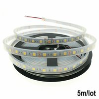 Wholesale Led Strip Lights Fish Tank - Silicone Cannula IP67 Waterproof 5050 5M LED Strip light DC12V 60LEDs M Ribbon Tape Decoration Swimming Pool  Fish Tank Bathroom