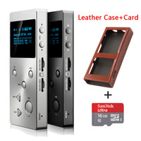 Wholesale Digital Voice Recorder Sd - Wholesale- 2016 New XDUOO X3 Professional lossless music player hifi digital mp3 support DSD APE FLAC WAVWMA OGG MP3 dual SD slot+TF Car