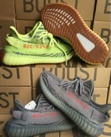 Wholesale eva letter - Big size 36-48 cp9652 v2 350 boost 2018 Bred core black red Sply 350 red letter mix 10 colors Beluga 2.0 shoes