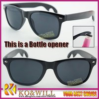 Wholesale Sunglasses Oem - Kowill oem botter opener sunglass oculos de sol goggle Sunglasses driving shades frame sunglass glasses Eyewear